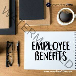 Benefits for CRNA Salary in NYC