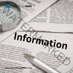 CRNA Programs in HI Information