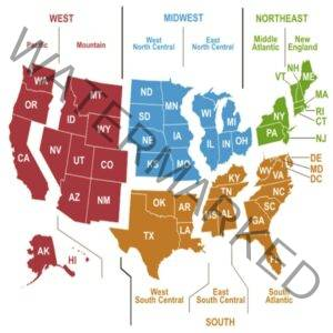 CRNA Salary by State & Region