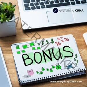 Sign-on Bonus for CRNA Salary in NYC