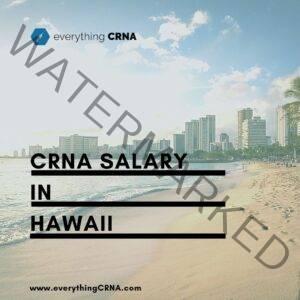 crna salary in hawaii