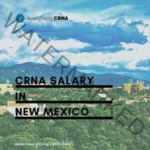 crna salary in new mexico