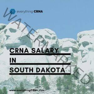crna salary in south dakota