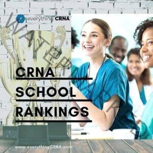 CRNA school rankings