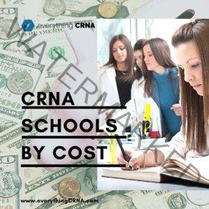 crna schools by cost