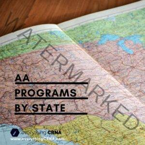 AA Programs by State