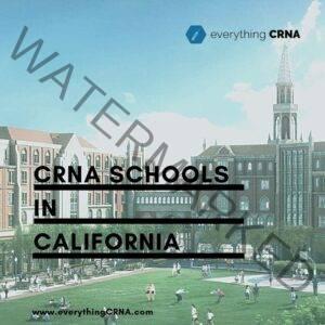 crna schools in california
