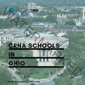 crna schools in ohio