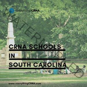 crna schools in south carolina