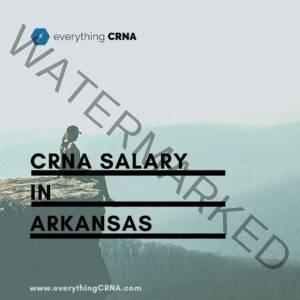 crna salary in arkansas