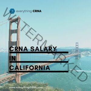 crna salary in california