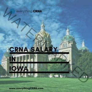 crna salary in iowa