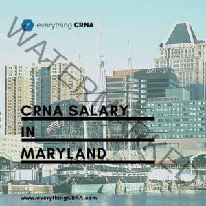 crna salary in maryland