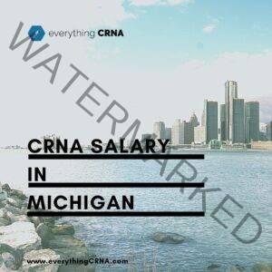 crna salary in michigan