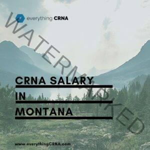 crna salary in montana