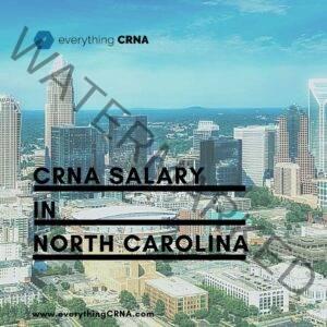 crna salary in north carolina