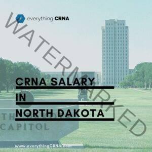 crna salary in north dakota