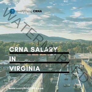 crna salary in virginia